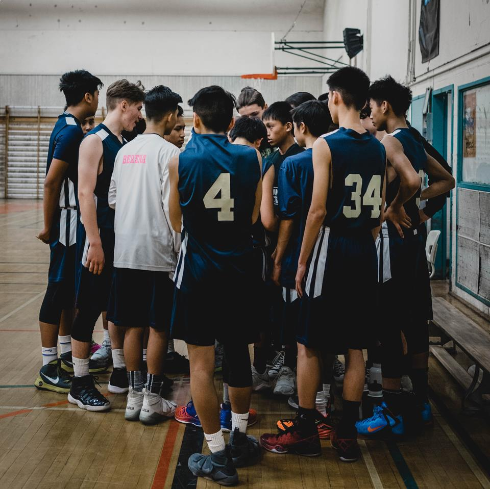 Studer i udlandet med MyEducation - til basketball træning