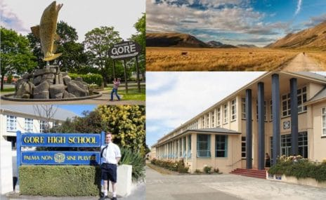 Gore High School i New Zealand